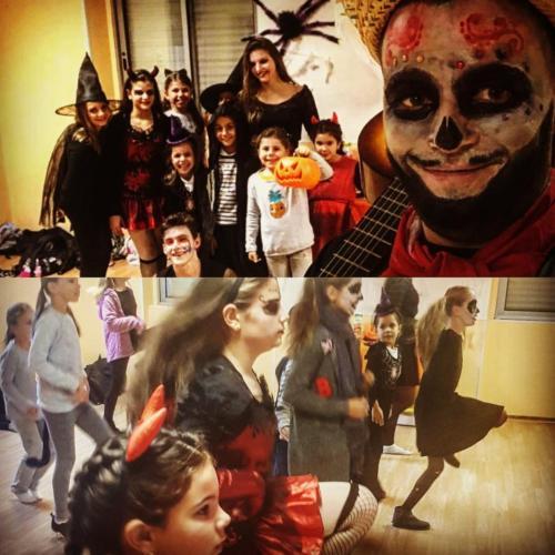 Halloween avec les enfants le 31-10-18