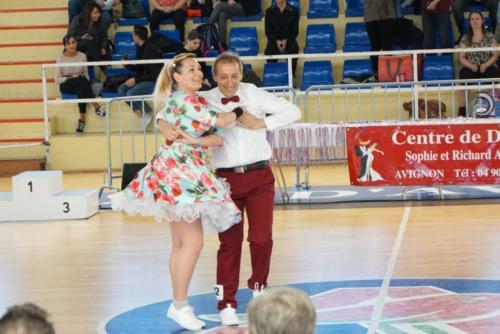 Championnat Régional à Avignon - 22 Fevr 2020 - Laure et Bruno