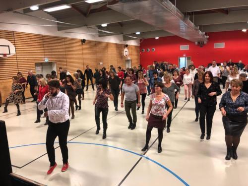 Initiation Danse en ligne - Téléthon 2019